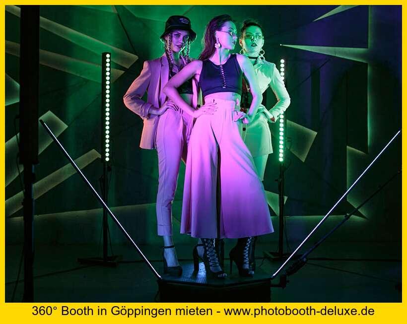 Dynamische 360 Video Booth Aktion In Goppingen Photobooth Deluxe Fotobox Mieten Leasen Kaufen