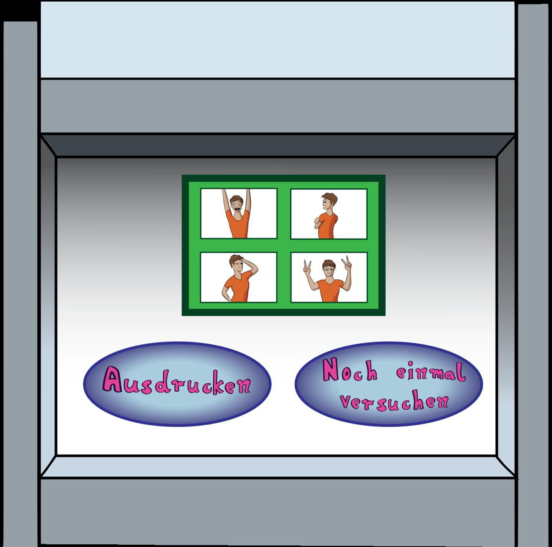 Photobooth Option 2 Druckfunktion