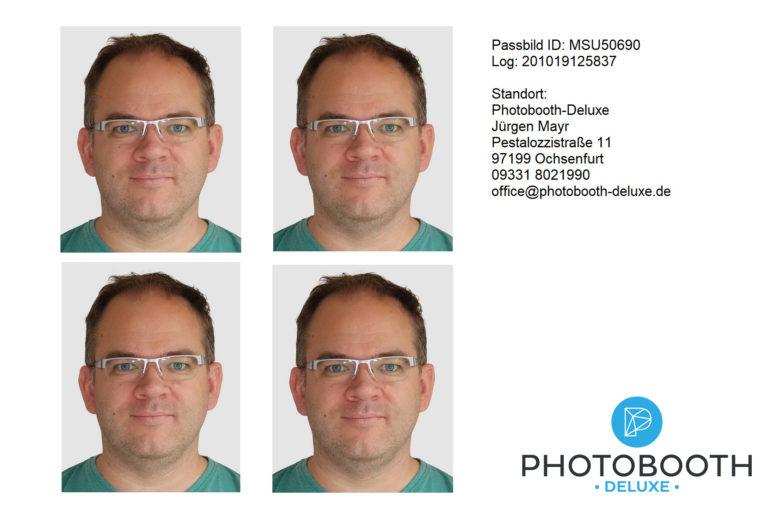 biometrisches Passbild (erstellt mit Breeze2Passport)